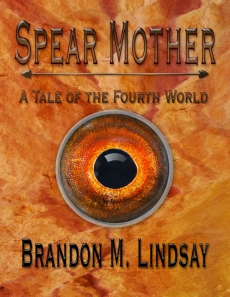 Cover art for the new release, Spear Mother.